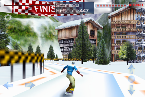Screenshot 3d iSki2011 Deluxe