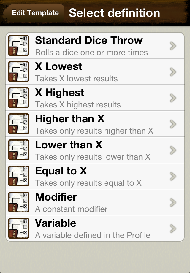 Screenshot OmniDice Free